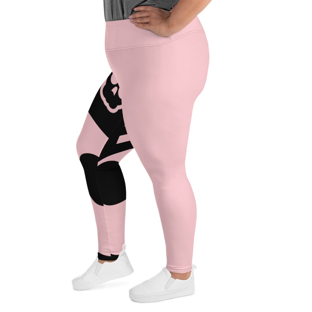 Image of Save The Boobies Plus Size Leggings