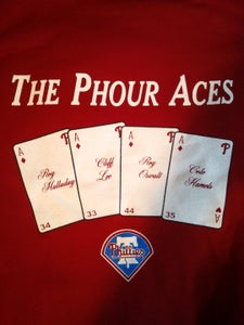 Image of The Phour Aces Phillies 2011 Hoodie!! IN STOCK NOW