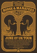 Image of MANATEES & BOSSK SILK SCREEN PRINT