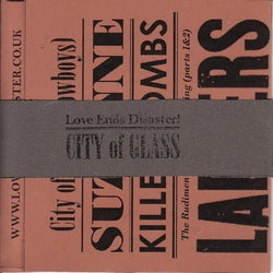 Image of City of Glass [Limited Edition CD]