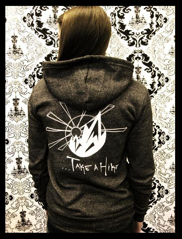 Image of Ride a Bike, Take a Hike Hoodie (Unisex)