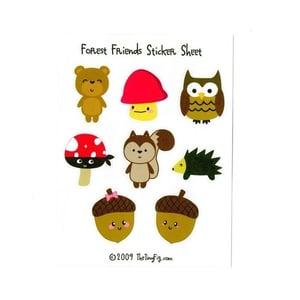 Image of Forest Friends Sticker Sheet