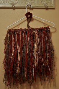Image of Fringe blanket with matching headband