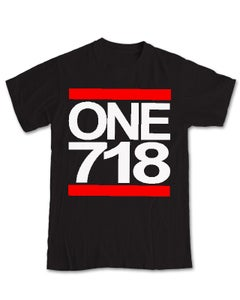 Image of ONE 718 Black Tee
