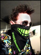 Image of Faded Industry Custom #FADEDmonsters (2 Sided) Bandana.