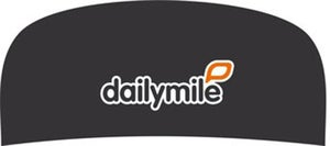 Image of Black dailymile Headband