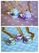Image of Teacup and Teapot Necklaces
