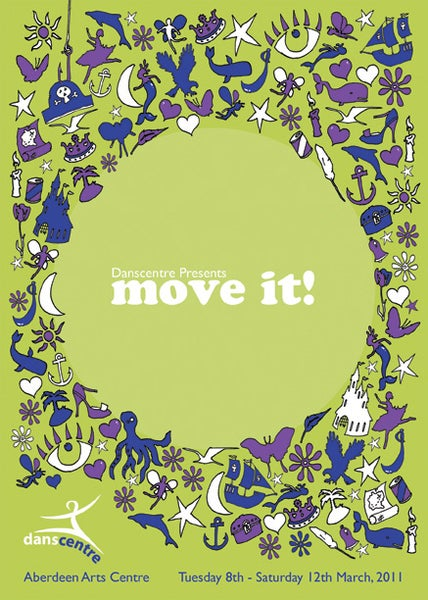 Image of Danscentre Move It! DVD