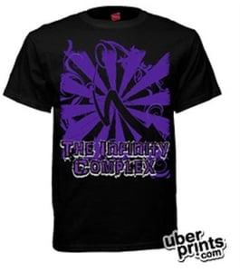 Image of Purple Arrow Unisex Shirt