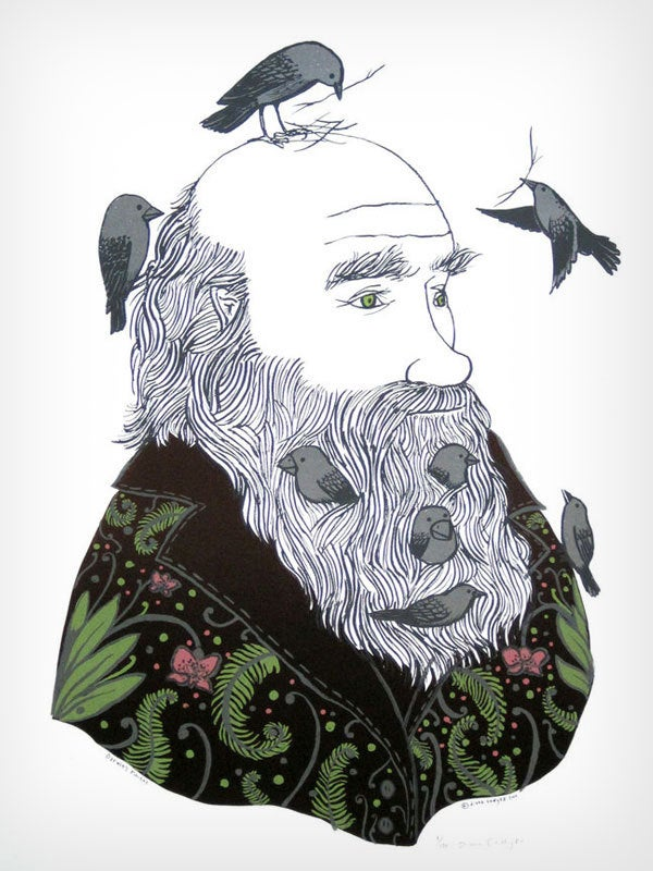 "Image of Diana Sudyka ""Darwin's Finches"""