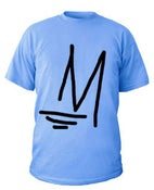 Image of M Logo | Light Blue
