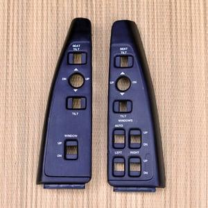 Image of 91-96 Chevy Caprice/Impala SS Switch Panels Housing (Black)