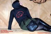 Image of Black Monalisa Hoodies (BLACK)