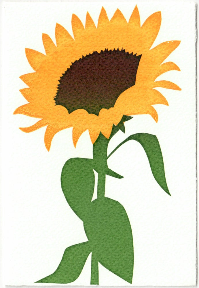 Image of Sunflower Card