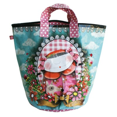 "Image of ""Le Cabas Portrait"" Shopping Bag"