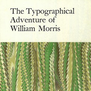 Image of The typographical adventure of William Morris