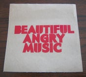 Image of Beautiful Angry Music Logo Sticker