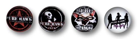 Image of Limited Edition Badges x4
