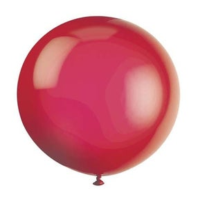 "Image of really, really big red balloon (36"")"
