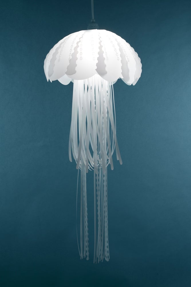 imagine gorgeous light so jellyfish lights randy zieber the a cluster pendant talented blown pin of glass pendants by hand