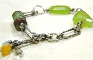 Image of Chalcedony Nugget Bracelet