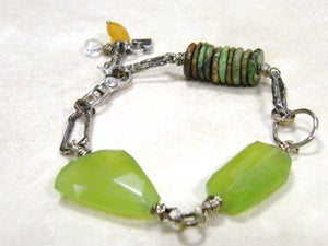 Image of Chalcedony Nugget Bracelet
