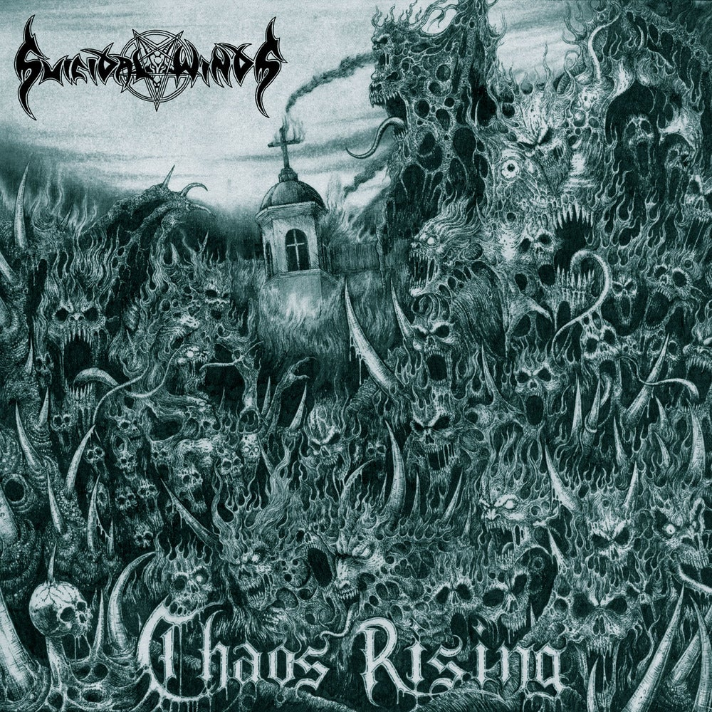 "SUICIDAL WINDS ""Chaos Rising"" CD"