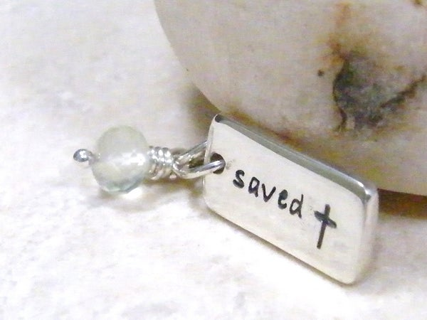 Image of saved sterling pendant