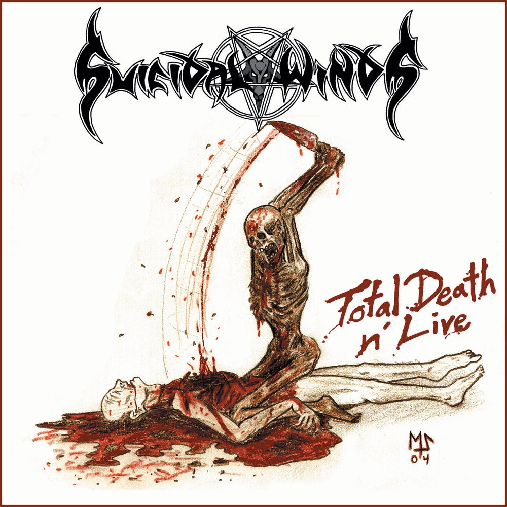 "Image of SUICIDAL WINDS ""Total Death N' Live"" CD"