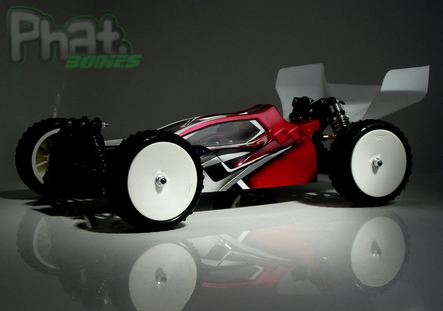 Image of Phat Bodies - 'OPTIMUS'  Bodyshell for Losi Mini 8ight, Associated Reflex 14B, LC Racing EMB-1
