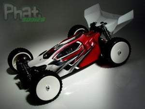 Image of Phat Bodies 'OPTIMUS' for Carisma GTB  Losi Mini 8ight Schumacher LC Racing EMB-1
