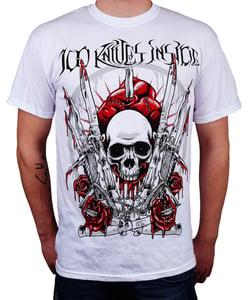 Image of Skull shirt - white