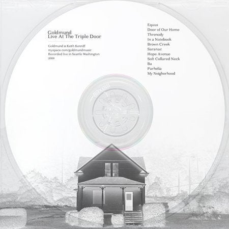 Image of Goldmund   Live At The Triple Door (mp3)