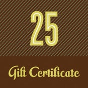 Image of Gift Certificate - $25