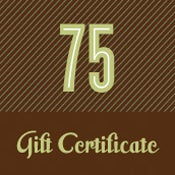 Image of Gift Certificate - $75