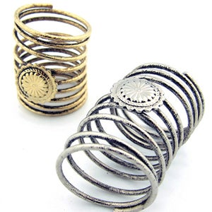 Image of Concho Coil Spring Rings
