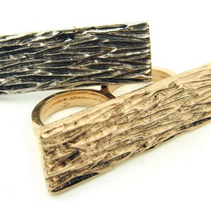 Image of All Bark, No Bite Double Finger Ring