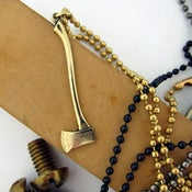 Image of UNION Parts & Recreation Toolbox Necklace- Axe Charm on 30 inch Ballchain