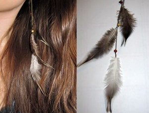 Image of Light Hair Feather