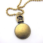 Image of UNION Parts & Recreation Toolbox Necklace- Pocket Watch Charm on Ballchain Necklace