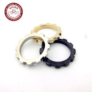 Image of  UNION Parts & Recreation Bicycle Jewelry- Stackable Cog Rings