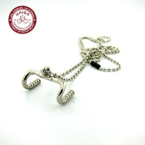 Image of UNION Parts & Recreation Bicycle Jewelry- Handlebar Charm Necklace