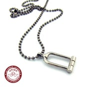 Image of UNION Parts & Recreation Bicycle Jewelry- U-Lock Charm Necklace