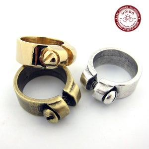 Image of UNION Parts & Recreation Bicycle Jewelry- Unisex Seat Clamp Rings