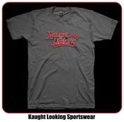 "Image of Kaught Looking Script Logo (Men) ""Away Jersey"""