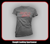 "Image of Kaught Looking Script Logo (Women) ""Away Jersey"""