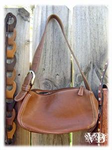 Image of Vintage Franco Sarto Leather Handbag