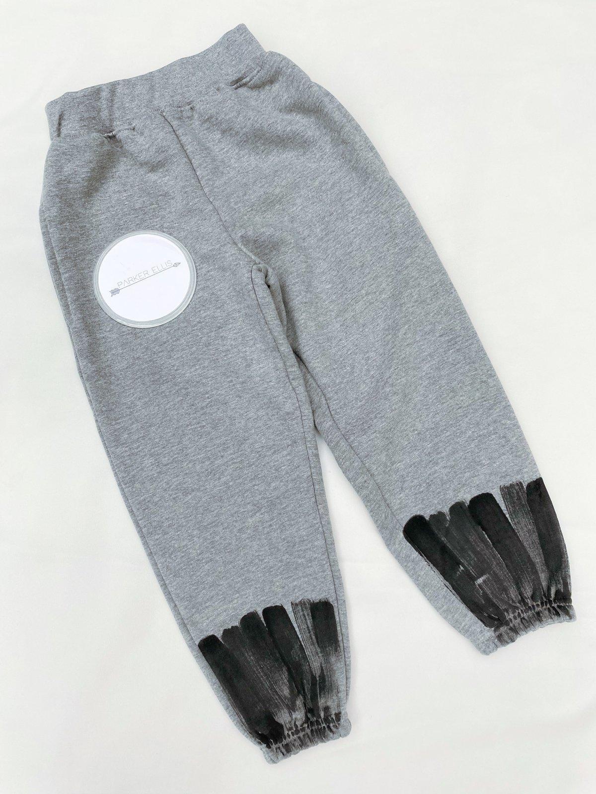 Image of Grey Brushed Joggers