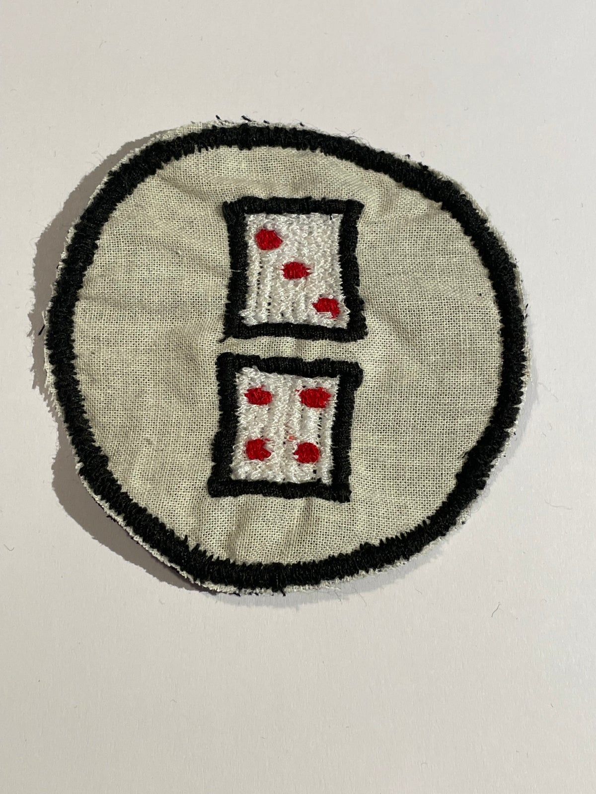 Image of Dice patch. 3