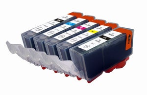 Image of Canon PGI-520 & CLI-521 Ink Cartridges